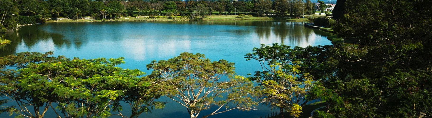A beautiful lake